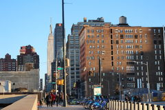 Mening van de Hoge Lijn van New York Stock Afbeelding