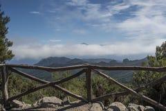 Mening van de hoogste berg van Tenerife Royalty-vrije Stock Afbeeldingen