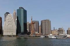 Mening van de horizon van Manhattan Royalty-vrije Stock Fotografie