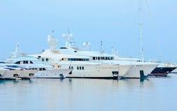 Mening van de jachthaven Royalty-vrije Stock Afbeelding