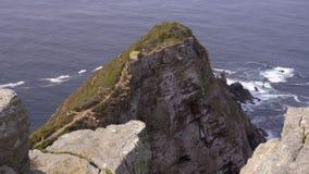 Mening van de Kaap van Goede Hoop stock videobeelden