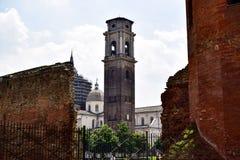 Mening van de Kathedraal van de Palatine deur vanuit een ander perspectief Royalty-vrije Stock Afbeeldingen