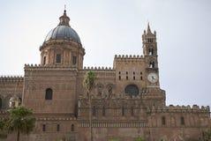 Mening van de kathedraal van Palermo royalty-vrije stock fotografie