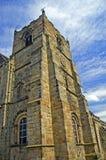 Mening van de kerktoren Stock Foto's