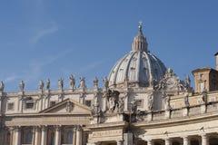 St. Peter Basiliek Royalty-vrije Stock Foto's