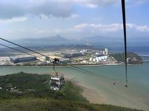 Kabelwagen in Lantau, Hong Kong Royalty-vrije Stock Fotografie