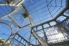 Palacio DE Cristal Royalty-vrije Stock Afbeeldingen