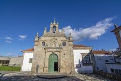 Mening van de Misericordia-kerk, in de historische oude stad van Mir royalty-vrije stock afbeelding