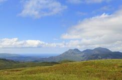 Mening van de Moelwyn-bergen Stock Afbeeldingen