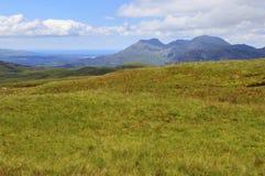 Mening van de Moelwyn-bergen Royalty-vrije Stock Afbeeldingen