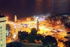 Mening van de nacht van Kaïro Royalty-vrije Stock Foto