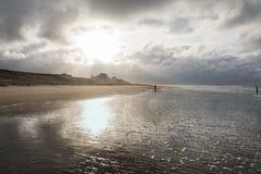 Mening van de Noordzee stock fotografie
