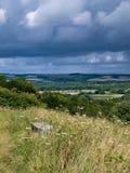 Mening van de Oude Heuvel van Winchester Royalty-vrije Stock Afbeelding