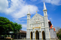 Mening van de oude 100 jaar Kerk Stock Afbeelding