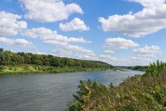 Mening van de rivier. Royalty-vrije Stock Foto's