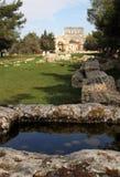 Mening van de ruïnes van de oude Heilige Simeon Basi Royalty-vrije Stock Foto's