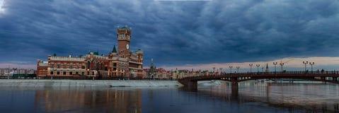 Mening van de stad Royalty-vrije Stock Afbeeldingen