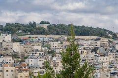 Mening van de stad van David ` s royalty-vrije stock foto's
