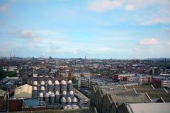 Mening van de stad, Dublin, Ierland stock fotografie