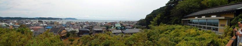 Mening van de stad, Kamakura, Japan royalty-vrije stock fotografie
