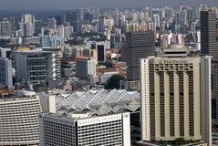 Mening van de stad, Singapore stock afbeeldingen