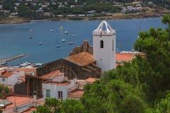 Mening van de stad in Spanje Royalty-vrije Stock Afbeeldingen