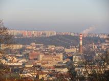 Mening van de stad van Brno Royalty-vrije Stock Foto's