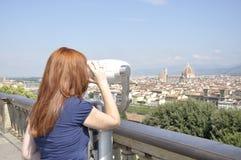 Mening van de stad van Florence Royalty-vrije Stock Afbeelding