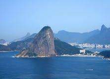 Mening van de stad van het Rio de Janeiro Royalty-vrije Stock Foto's