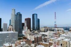 Mening van de Stad van Los Angeles Royalty-vrije Stock Afbeelding
