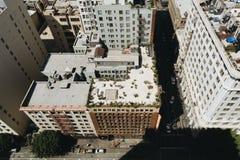 Mening van de Stad van Los Angeles Stock Afbeelding