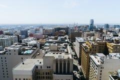 Mening van de Stad van Los Angeles Royalty-vrije Stock Foto's