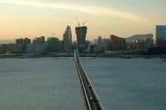 Mening van de stad van Macao Royalty-vrije Stock Afbeelding