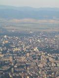 Mening van de stad van Sofia Stock Fotografie