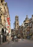 Mening van de stad van Utrecht nederland Royalty-vrije Stock Afbeelding