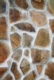 Mening van de steentexturen Royalty-vrije Stock Afbeeldingen