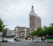 Mening van de straat in Nanning, China royalty-vrije stock fotografie