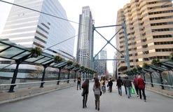 Mening van de straat van Toronto Royalty-vrije Stock Fotografie