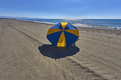 Mening van de stranden, Torremolinos, Costa Del Sol Stock Afbeelding