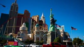 Mening van de strook in Las Vegas stock afbeeldingen