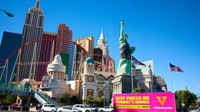 Mening van de strook in Las Vegas stock foto