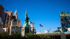 Mening van de strook in Las Vegas royalty-vrije stock afbeeldingen