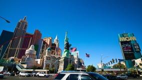 Mening van de strook in Las Vegas royalty-vrije stock afbeelding