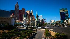 Mening van de strook in Las Vegas royalty-vrije stock fotografie