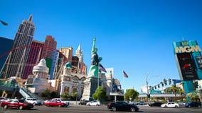 Mening van de strook in Las Vegas stock foto's