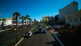 Mening van de strook in Las Vegas stock afbeelding