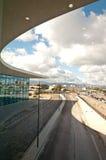 Mening van de terminal royalty-vrije stock fotografie