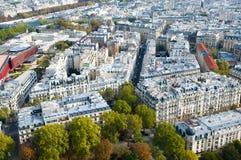 Mening van de Toren van Eiffel Stock Afbeelding
