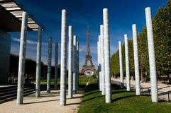 Mening van de Toren van Eiffel Stock Foto's