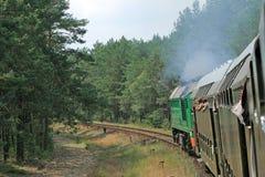 Mening van de trein royalty-vrije stock fotografie